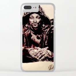 Snoop Doggy Dogg Clear iPhone Case