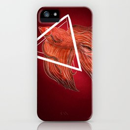 Urban Betta Marooned iPhone Case