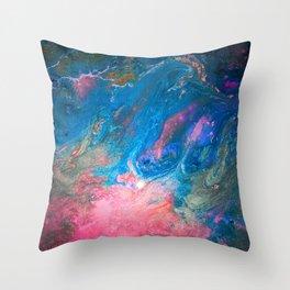Glow Babe Throw Pillow