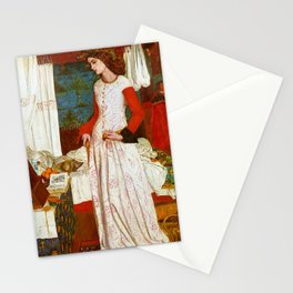 "William Morris ""La Belle Iseult (Queen Guinevere)"" Stationery Cards"