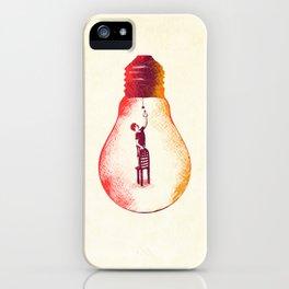 Idea Begins iPhone Case