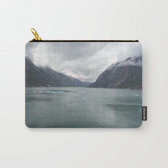 Looking out Endicott Arm Carry-All Pouch
