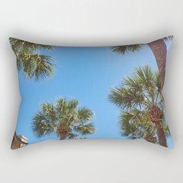 St Augustine Palm Trees Rectangular Pillow