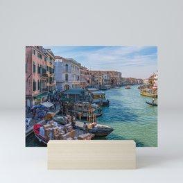 Grand Canal Around the Bend Mini Art Print