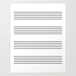 The Musician Art Print