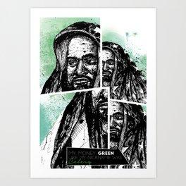 Ghostface Killah Art Print