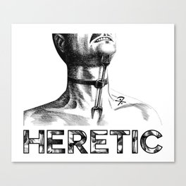 Heretic - Heretic's Fork Canvas Print