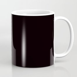 So black Coffee Mug