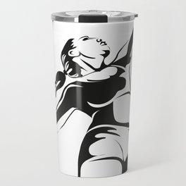 Beach volleyball player Travel Mug