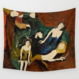 Dark Room Wall Tapestry