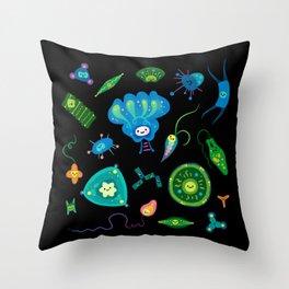 Phytoplankton Throw Pillow