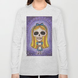 Alicia Day of the Dead Long Sleeve T-shirt