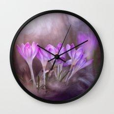 Pursuing dreams Wall Clock