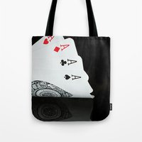 ace Tote Bags featuring ACE!!!! by Brian Raggatt