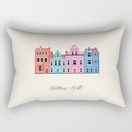 Vector Cities - Notting Hill Rectangular Pillow