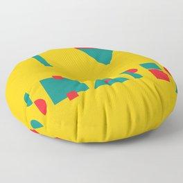I heart Shapes Floor Pillow