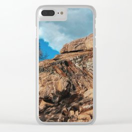 Maymont Peaks Clear iPhone Case