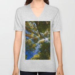 Pinus resinosa Unisex V-Neck