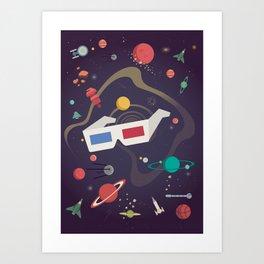 Cosmico 3 Art Print
