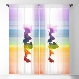 Little Chakra Tree Blackout Curtain