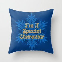 I'm  Special Character Throw Pillow