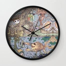 Mind Friend of Imaginations 2 Wall Clock
