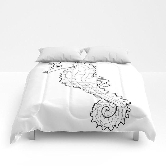Sea Horsh Comforters