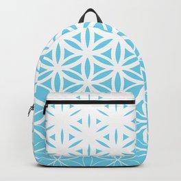 Sacred Geometry Blue Backpack