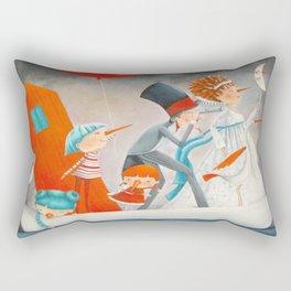 The Company Rectangular Pillow