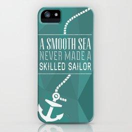 Skilled Sailor iPhone Case