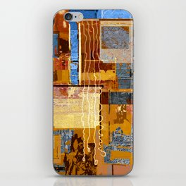 Meandering the Cellar of Peace Contemporary Abstract iPhone Skin