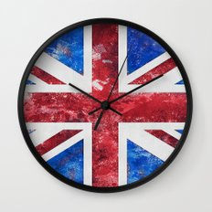 Union Jack Great Britain Flag Wall Clock