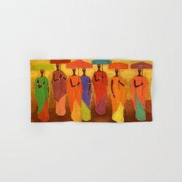 African American Masterpiece 'African Royalty' by Ellis Wilson Hand & Bath Towel