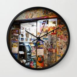 Tattooed Bodega Wall Clock