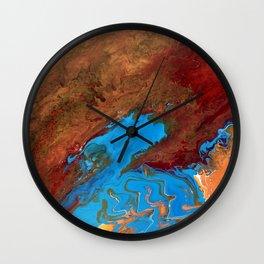 Arizona Agate Slab Wall Clock