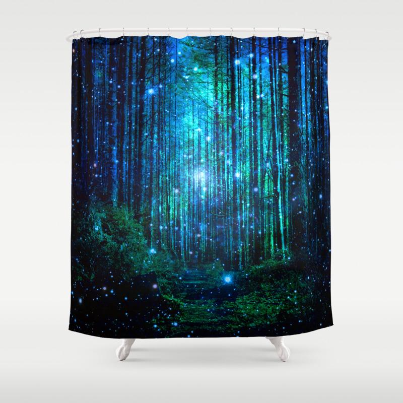 Landscape Shower Curtains