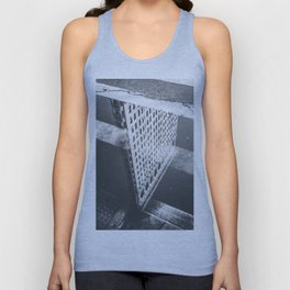 Flat Iron Building - NYC Reflection Unisex Tank Top