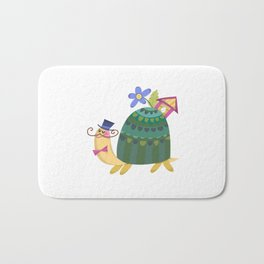Cute Turtle Bath Mat