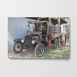 Old For Livestock Transport Metal Print