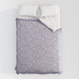 Fist Full of Lilacs Comforters