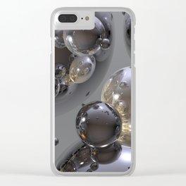 Molecular Dream Clear iPhone Case