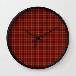 MacKintosh Tartan Wall Clock