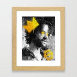 De Facto Framed Art Print