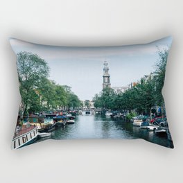 Down the Canal Rectangular Pillow