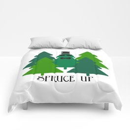 Spruced Up Tree Comforters