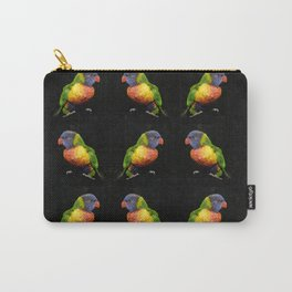 Rainbow Lorikeets work A Carry-All Pouch