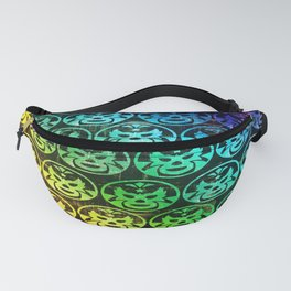 mexican wrestling mask Fanny Pack