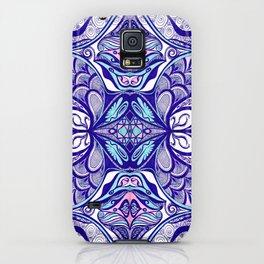 Peacock 3 Symmetrical design iPhone Case
