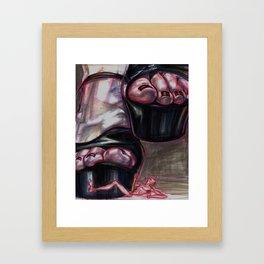 Stomp Stomp Framed Art Print