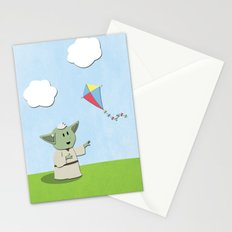 SW Kids - Yoda Kite Stationery Cards